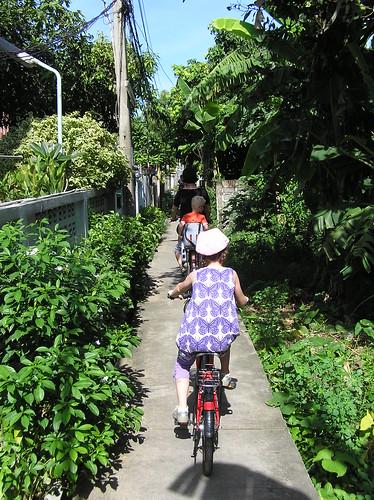 Bangkok, cycling, Thonburi