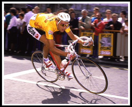 Kellogg's Tour of Brittain 1988. Winner Malcolm Elliott