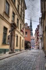 Old Town HDR, Riga Latvia