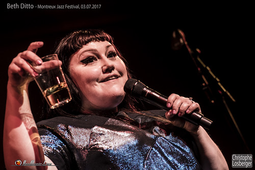 Beth Ditto @ Montreux Jazz Festival