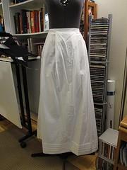 Tucked Petticoat
