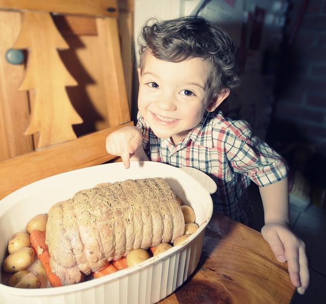 Ze cook, oui oui!