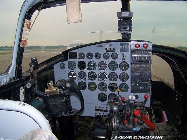 B 26 A 26 Invader Cockpit