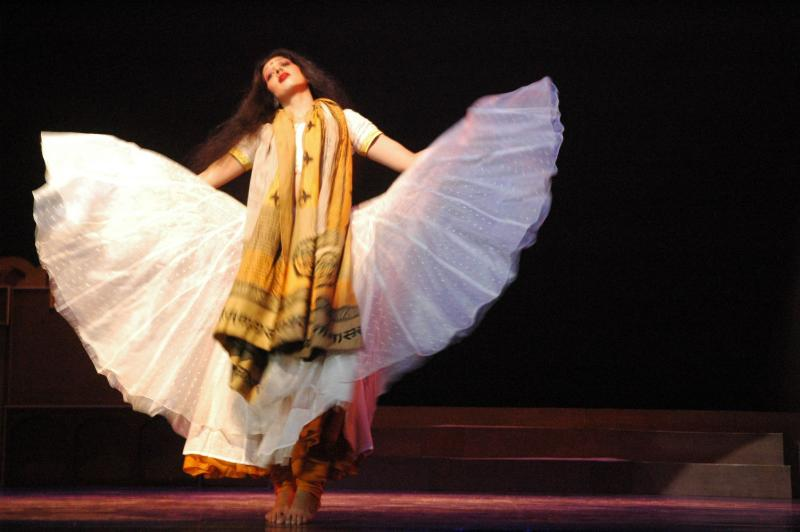 classical dances incorporated in ballet, Meera, India