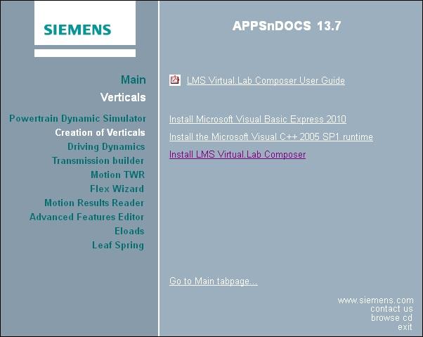 Install Siemens LMS Virtual.Lab Rev 13.7 64bit full license