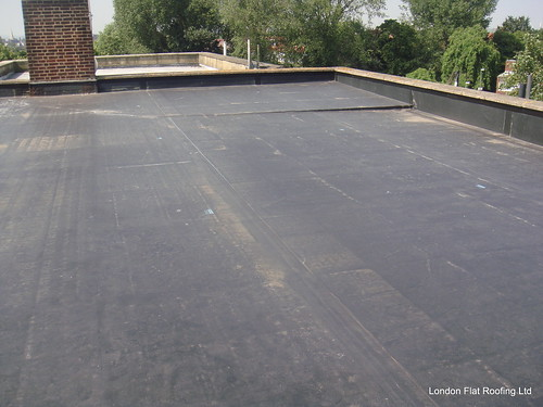 EPDM rubber flat roof North London by EPDM Rubber Flat Roofing