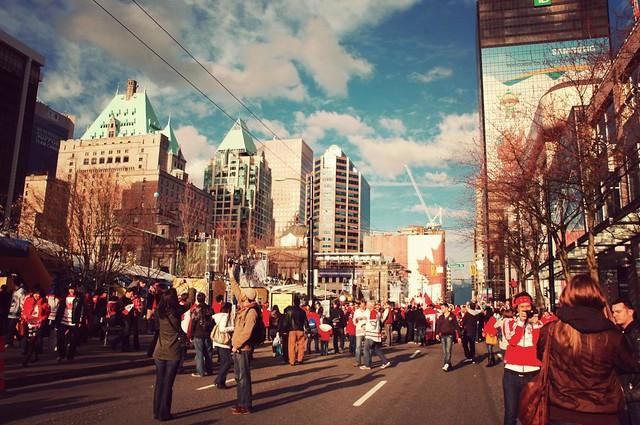 #vancouver2010 olympics hockey party