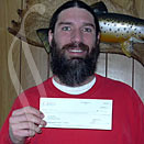 Eric with his $50 Vindale check