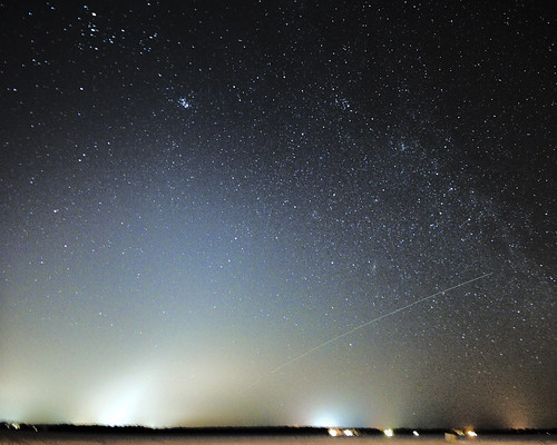 Zodiacal light Over Cumberland Beach