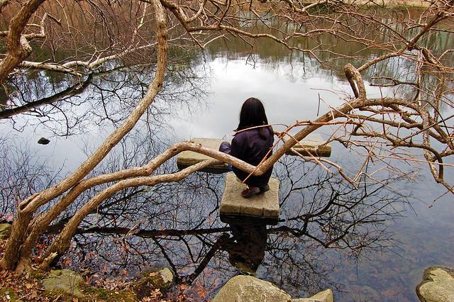 Emily Reflecting