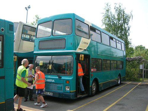 N621 KUA Volvo Olympian, Selby depot