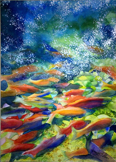 Salmon Run (Jennifer Kolmer)