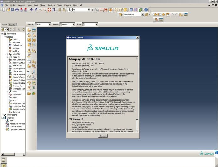 working with Abaqus 2016 hotfix4 64bit full crack