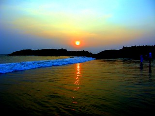 Sunset - Kovalam Beach