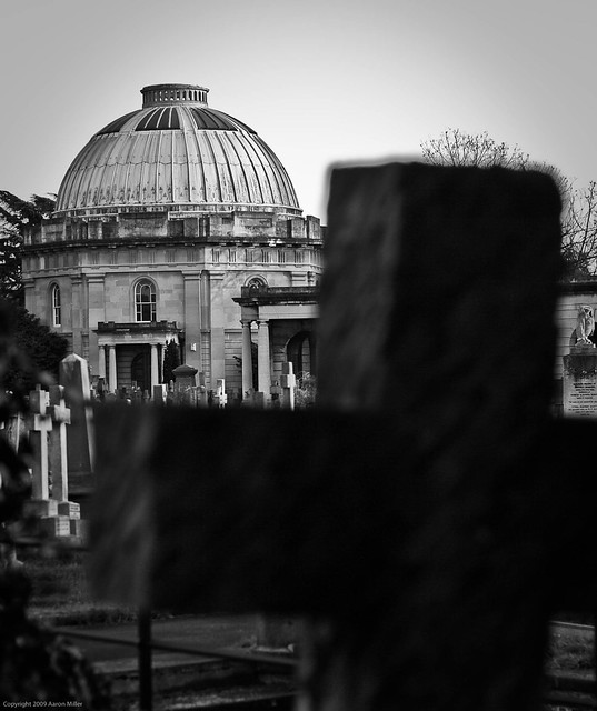 Brompton Cemetery B&W