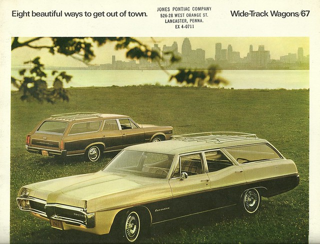 1967 Pontiac Station Wagons