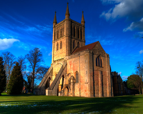 Pershore Abbey, under Creative Commons. Photo by Timothy Rose, click pic for link.