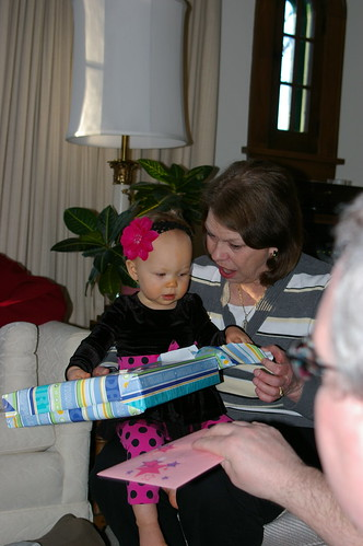 Aria and Jane at Aria's first birthday party