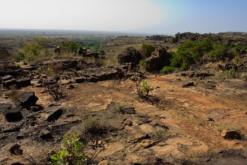 Landschaft bei Dafra