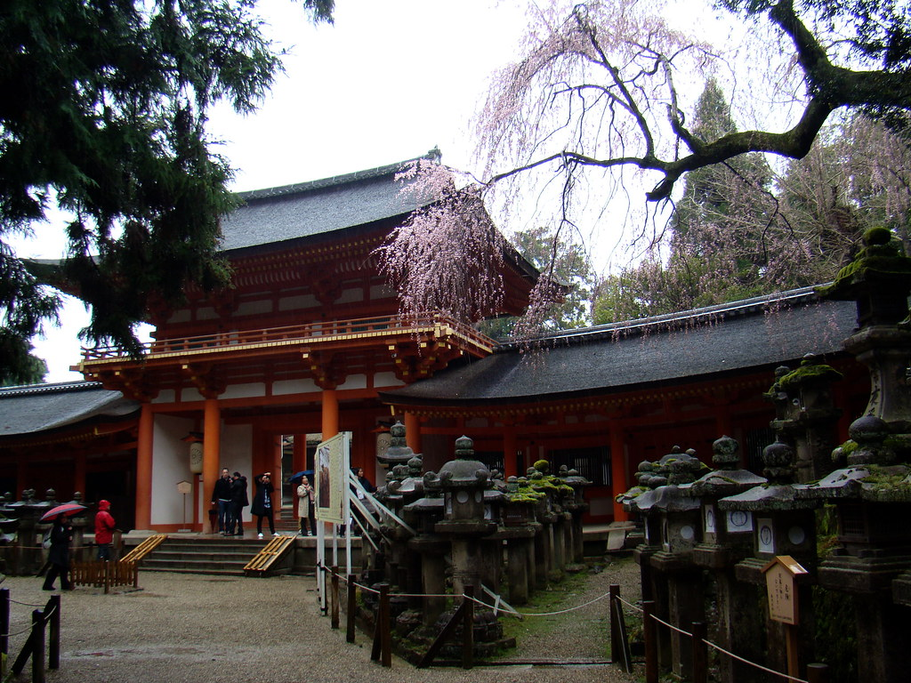 Nara Gran Santuario Kasuga Japon 17