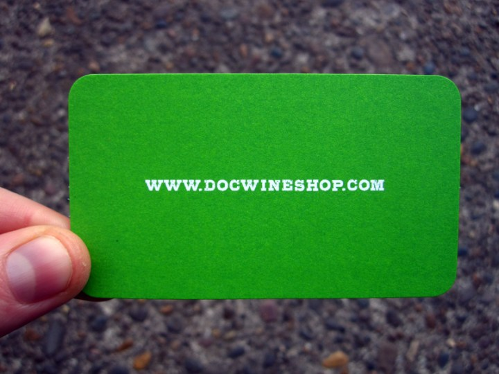 Business Cards by Editorial Pinch for D.O.C Wines