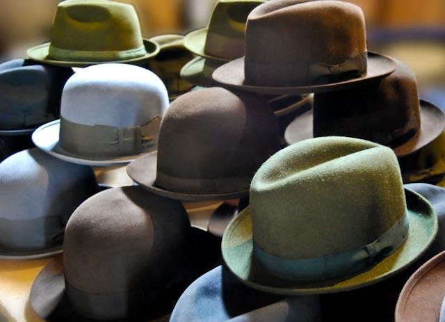 Sombreros y recuerdos