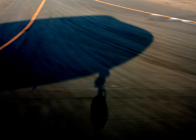 airplane shadow
