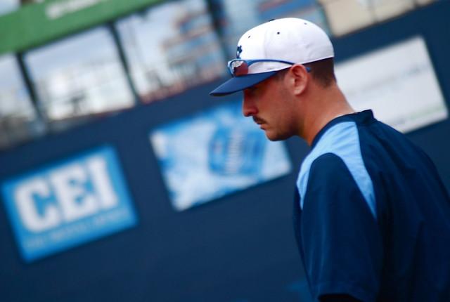 baseball: unc @ duke, game two