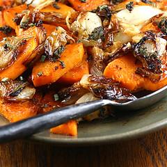 Squash and Carm Onions! 005