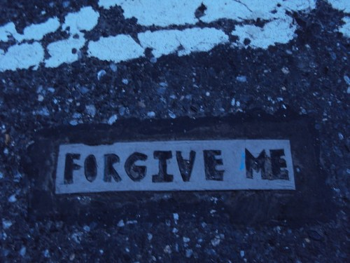 Forgive me in the Street - Philadelphia from Flickr via Wylio