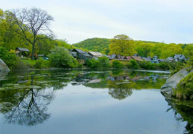 Reflected Village