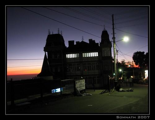 Simla Street by Somnath Mukherjee Photoghaphy