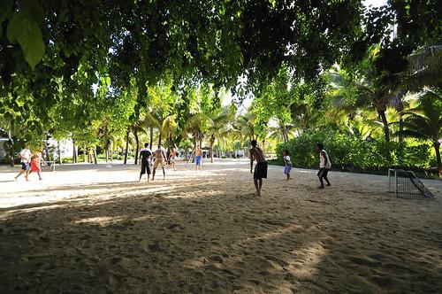 Mauritius football players