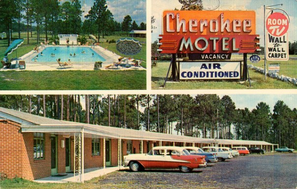 Cherokee Motel - Waycross, Georgia U.S.A. - date unknown