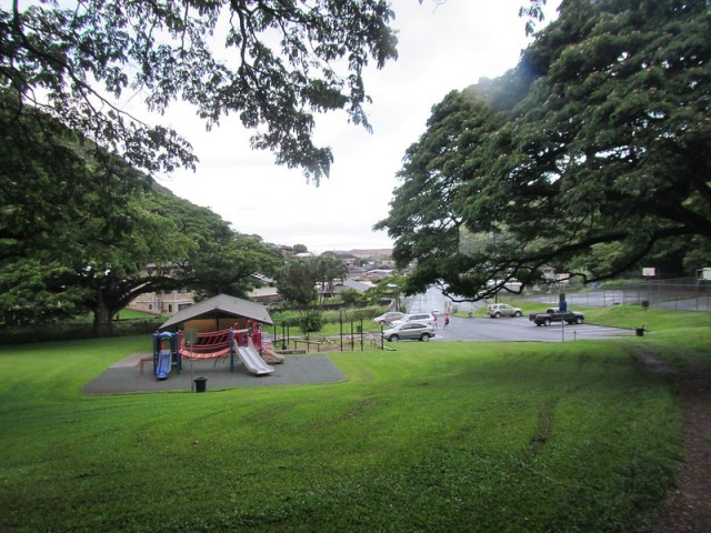 Picture from the Kamananui Valley