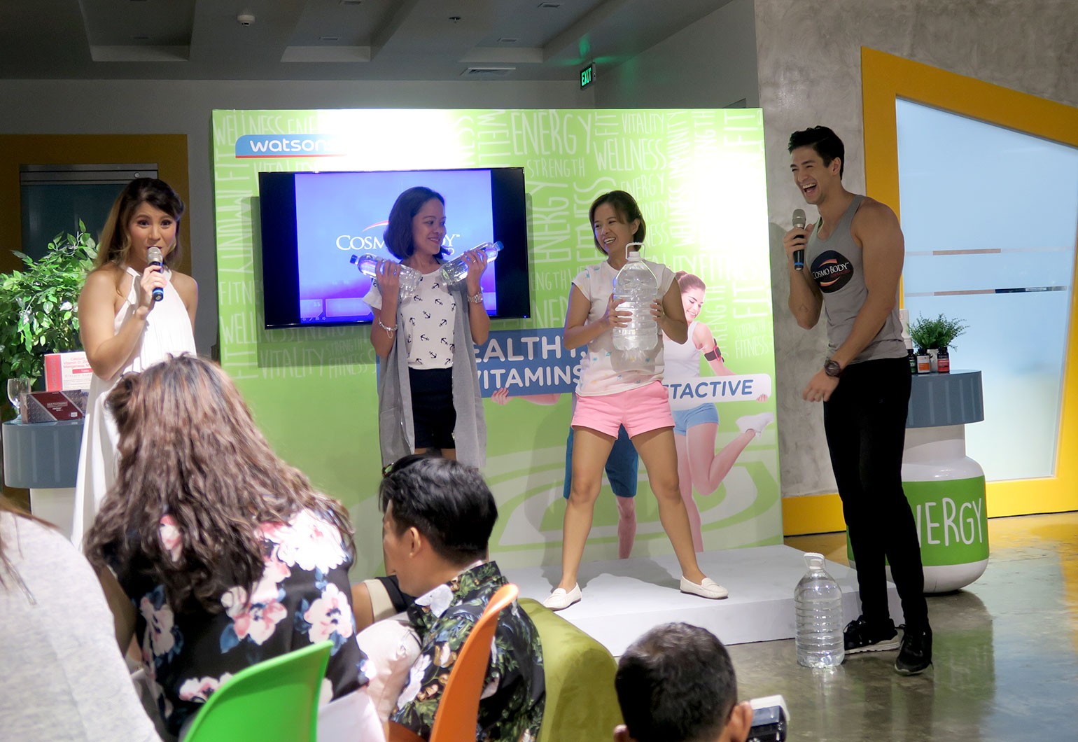 12 Watsons PH GetActive Campaign - She Sings Beauty by Gen-zel