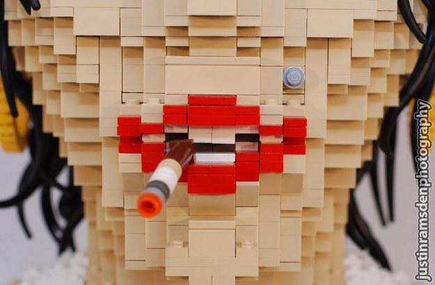 LEGO Amy Winehouse (Lips)