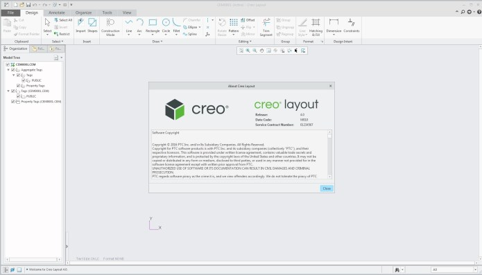 Creo 4.0 M010 layout 64bit full crack