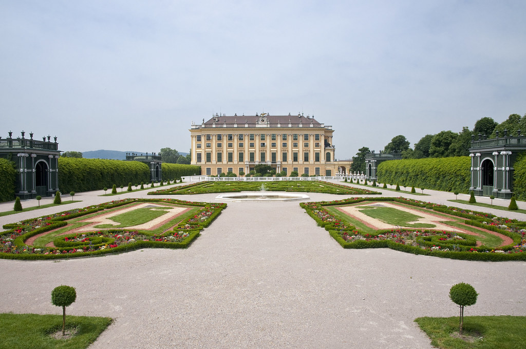 Panoramic View of the Privy Garden and the Palace