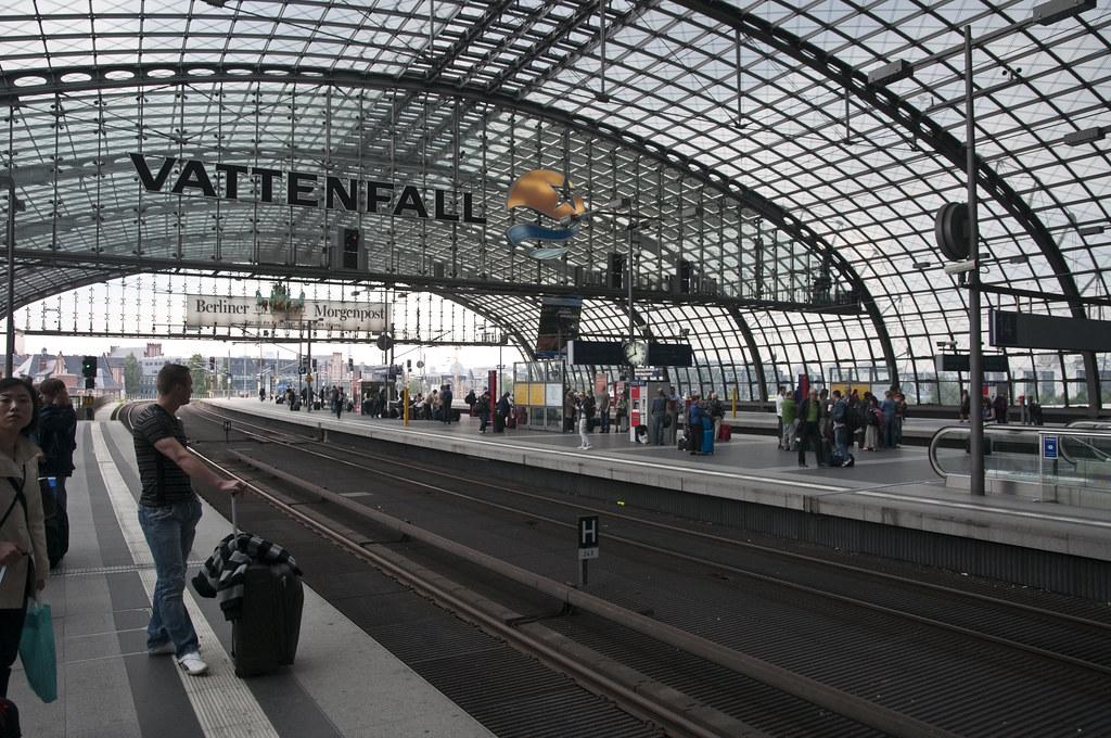 S-Bahn Station at Berlin Hbf