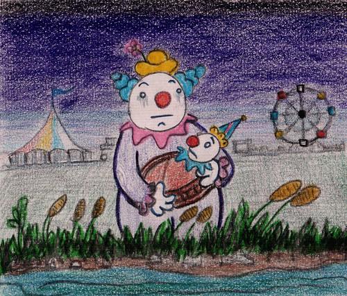 sad clowns by Giant Hamburger