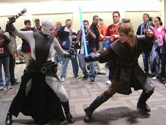 Star Wars Celebration III - Asajj Ventress vs Anakin Skywalker