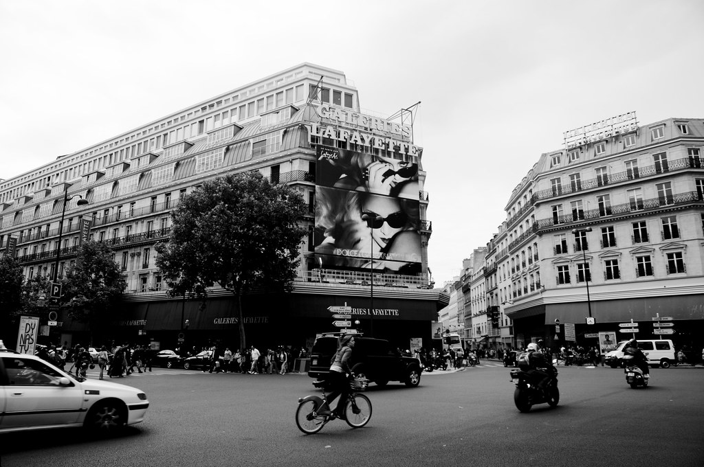 Galeries Lafayette in Black & White
