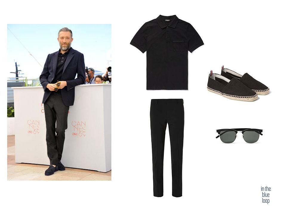 El negro lo pueden llevar los hombres mejor vestidos con un polo y un pantalón de vestir