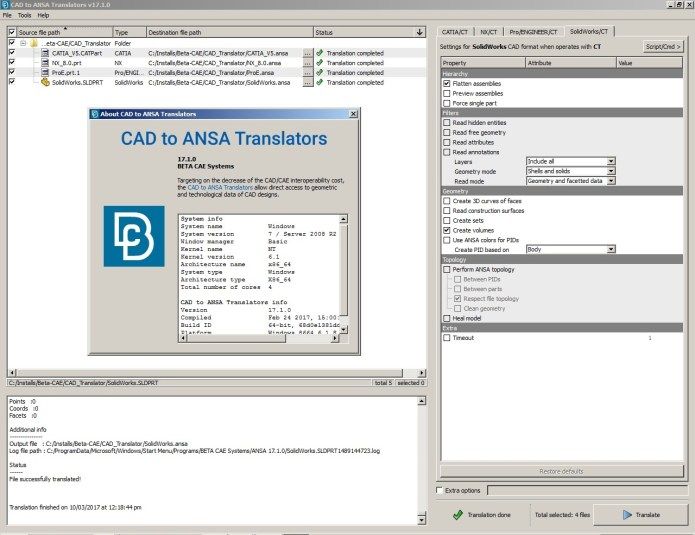BETA CAE CAD Translator 17.1.0 x64 full crack forever