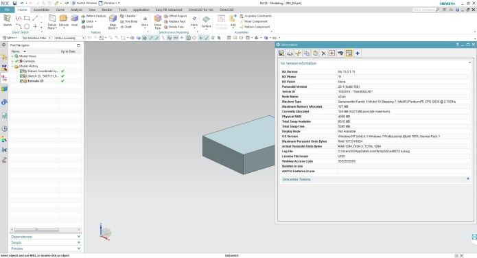 design with Siemens PLM NX 11.0.1 NX 11.0 MR1 Update Win64 full crack
