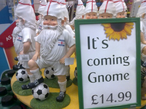Football's Coming Gnome (earlier than some expected)