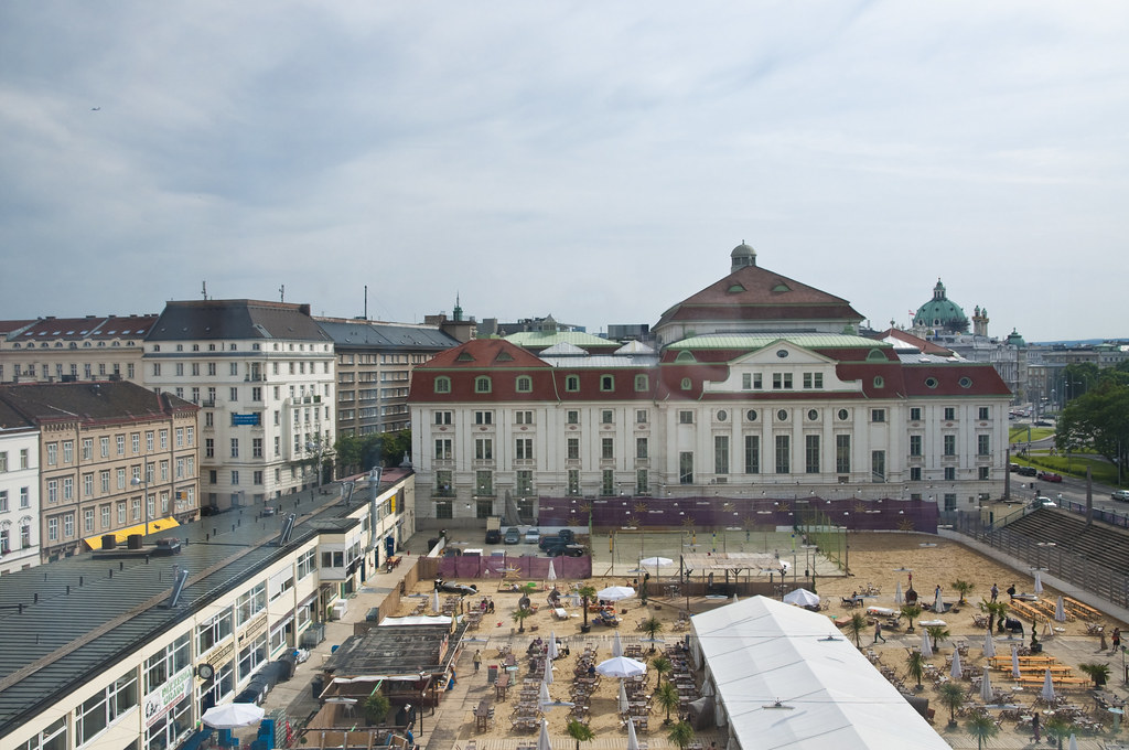 View of Wien Konzerthaus from the Room