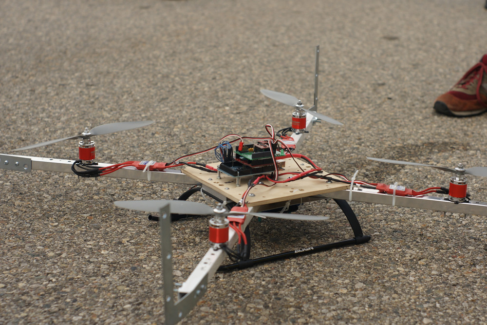 DIY quad-copter