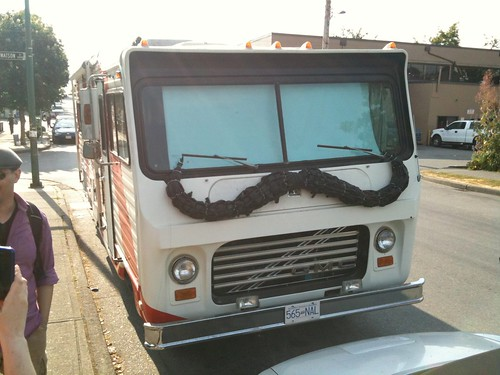 RV with Moustache